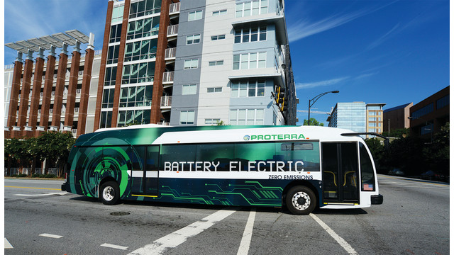 Proterra Inc Introduces Second Generation 40-foot EV Transit Bus